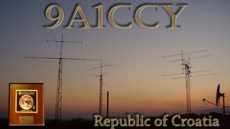 Official web site - 9A1CCY/9A5Y